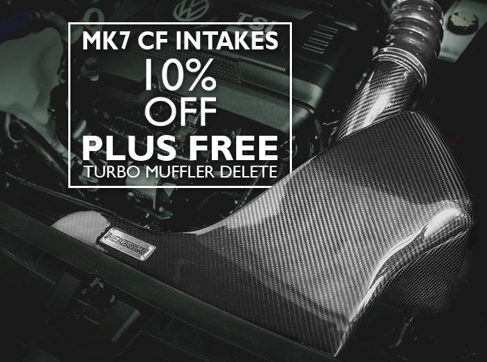 MK7 CARBON FIBER INTAKES 10% OFF