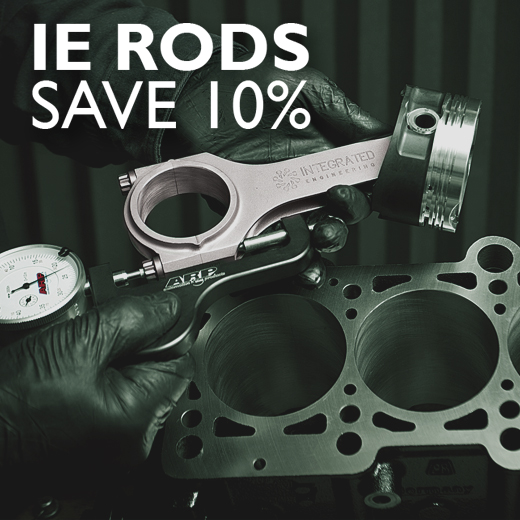 10% OFF ALL IE CONNECTING RODS